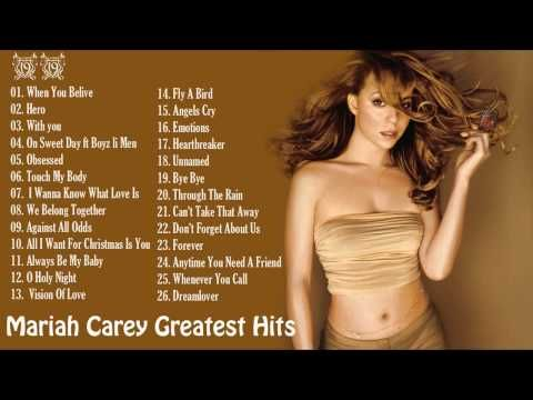 Best Songs of Mariah Carey Mariah Carey Greatest Hits [Full Album] - YouTube
