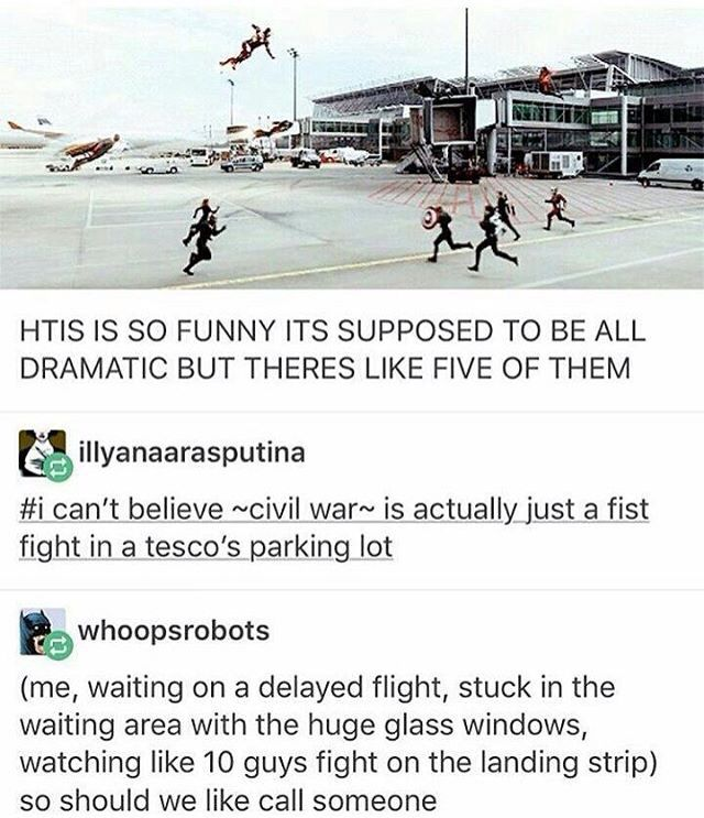 i mean yeah tho can't lie >>> Am I the only one that thinks it looks like iron man's falling and they're all running to catch him?? XD