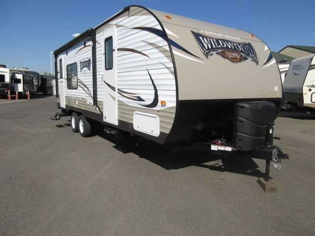 2016 New Forest River Wildwood 231RKXL ALL POWER PACKAGE Travel Trailer in California CA.Recreational Vehicle, rv, 2016 Forest River Wildwood 231RKXL ALL POWER PACKAGE, Interior Color: LEATHER, Water Capacity: 48, Number of AC Units: 1, Leveling Jack: 4 ELECTRIC STABILIZER JACKS, Self-Contained: Yes, Number of Slideouts: 1, Cabinetry: Cherry, The following is a list of Additional Options besides the Standard Features come with the unit are:- 2016 WILDWOOD 231RKXL LEATHER D COR PASS THRU…