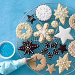 Christmas Cookies 4 Ways Recipe | MyRecipes.com