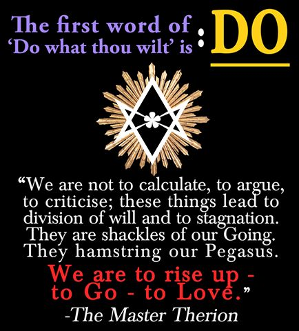 do what thou wilt book