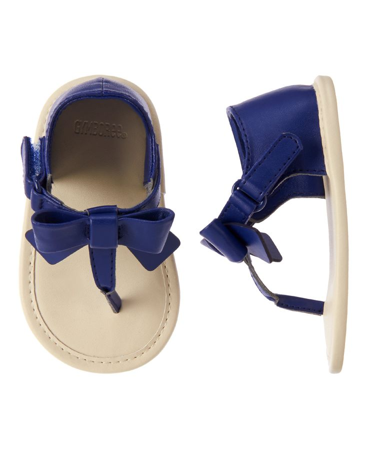 Bow Sandals at Gymboree