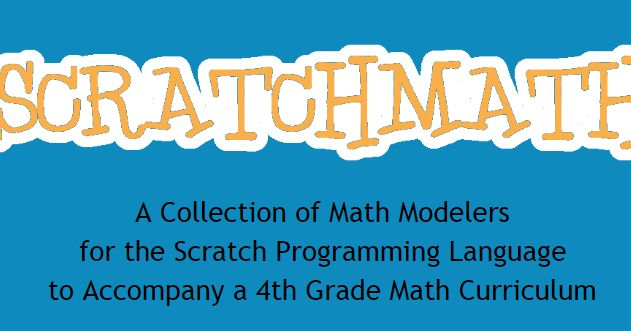 Free Technology for Teachers: ScratchMath - Great Ideas for Using Scratch in Elementary Math