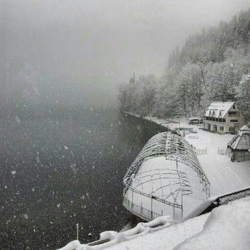 Зима Абхазия 2