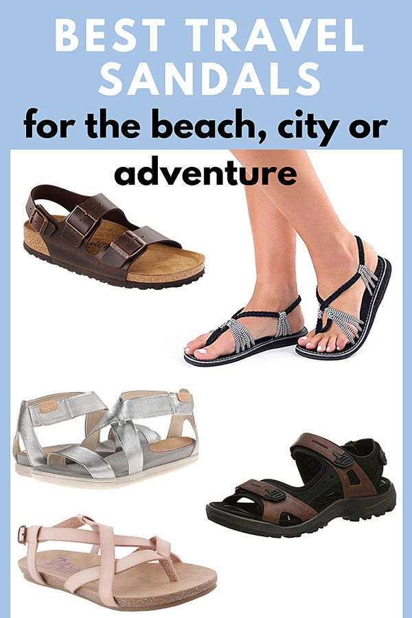 Best Travel Sandals for Beach, City and