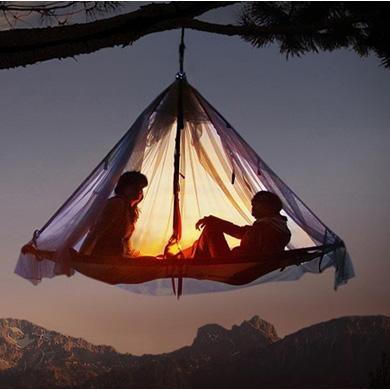 Hanging Tent #outdoorsman #camping #men