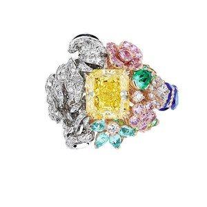 「ディオール」ヴェルサイユ宮殿の庭園が着想のハイジュエリー、瑞々しい草花をダイヤモンドやエメラルドで - 画像27