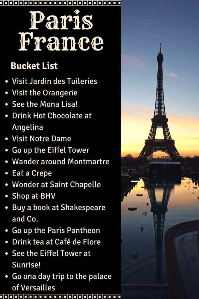 Paris Bucketlist: The Ultimate Guide to Paris, France