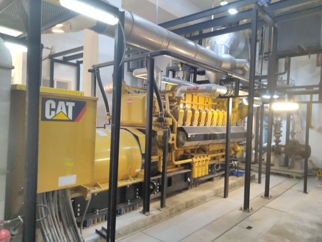 Caterpillar G3520 And G3516 Natural Gas Generator Package