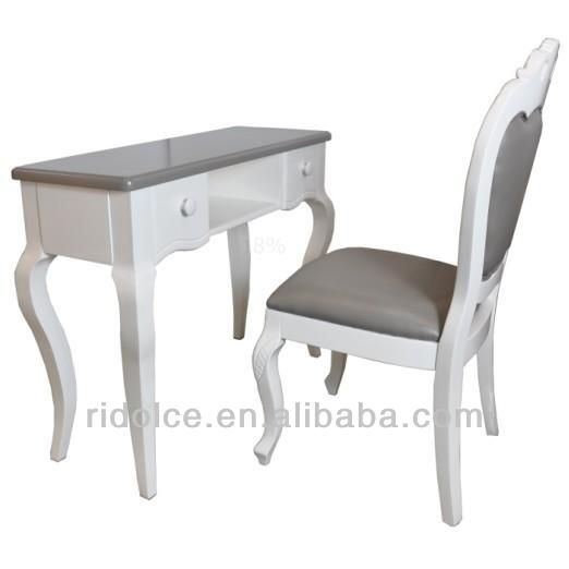 Painted finish acetone proof Nail technician tables used nail salon equipment F-5717-2  F-9245
