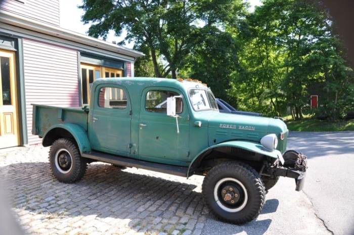 1946 Dodge Power Wagon Maintenance of old vehicles: the material for new cogs/casters/gears could be cast polyamide which I (Cast polyamide) can pr\u2026 & 1946 Dodge Power Wagon Maintenance of old vehicles: the material ... Pezcame.Com