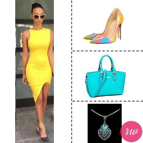 Cute Weekend Outfits - Bright Yellow.www.rosyweekend.com