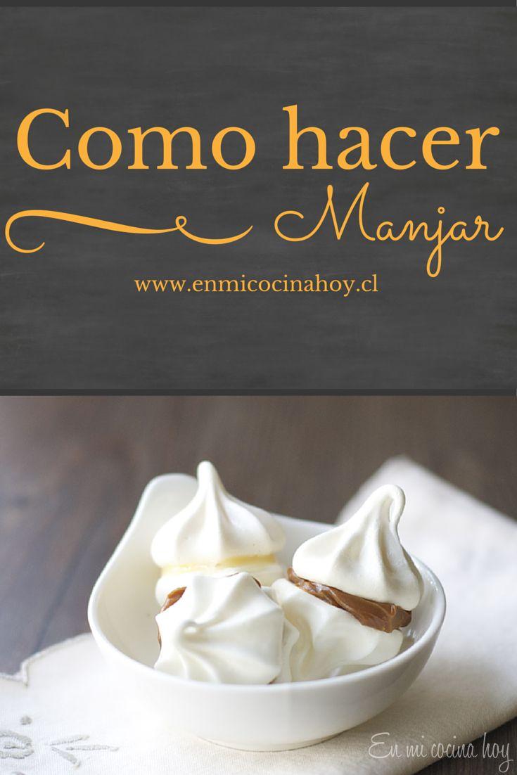 Viviendo fuera de Chile es una necesidad aprender a hacer manjar de leche condensada, no es difícil solo sigan la receta. ¡Suerte!