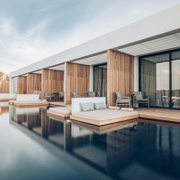 Block 722 Architects - Zante Maris Suites - Rooms