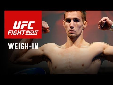 UFC Fight Night 89 Weigh-In Video & Results - http://www.lowkickmma.com/UFC/ufc-fight-night-89-weigh-in-video-results/