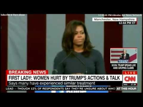 Michelle Obama on Trump's sexual assault of women