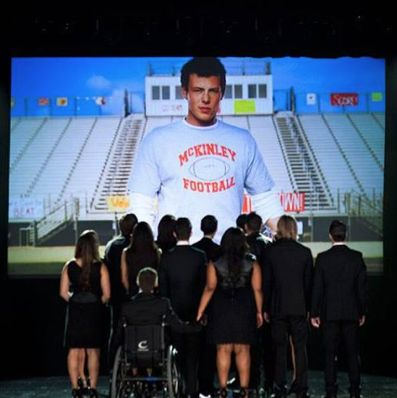 #RememberingCory  Saddest Glee Episode ever. I was crying within the first minute. :'(