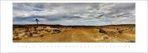 Windmill scene in the Karoo