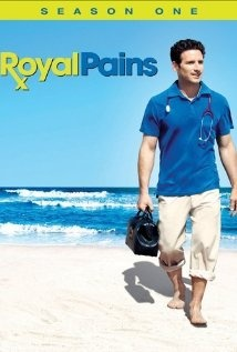 Royal Pains. Thought I would hate this when I first saw the commercial but it is very cute, and I really like the characters.