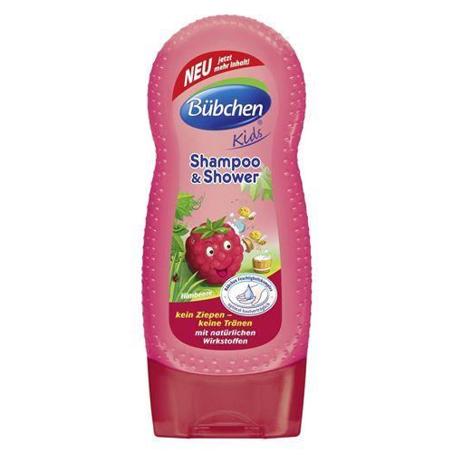 Bübchen Frambuaz Şampuan ve Duş Jeli 230ml