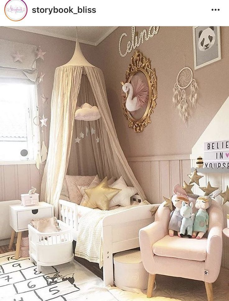 swan #girl | Baby bedroom furniture, Girls princess room ...