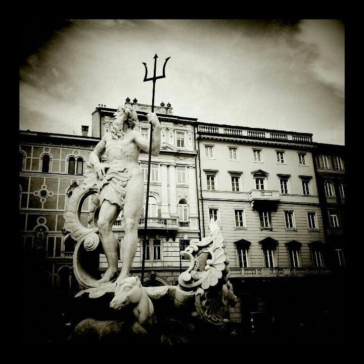 Piazza della Borsa in Trieste, Friuli Venezia Giulia