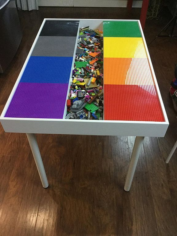 20 Diy Boys Lego Table Design Ideas