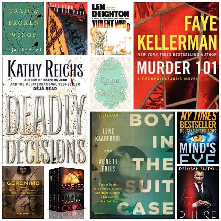 #Awesome #deals on #weekend #mustreads at http://www.bookgorilla.com/deals @KathyReichs, Faye Kellerman, Boy in the Suitcase
