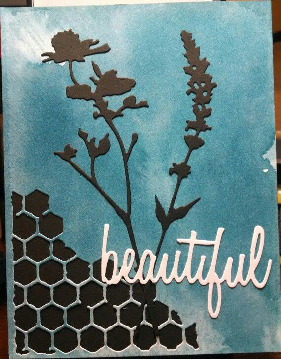 Mindy Cottingham: Tim Holtz Wildflowers, Mixed Media & Adventure Words dies