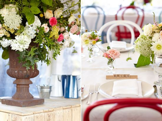 Table Inspiration  Kate and Jarrod's Casual Country Wedding
