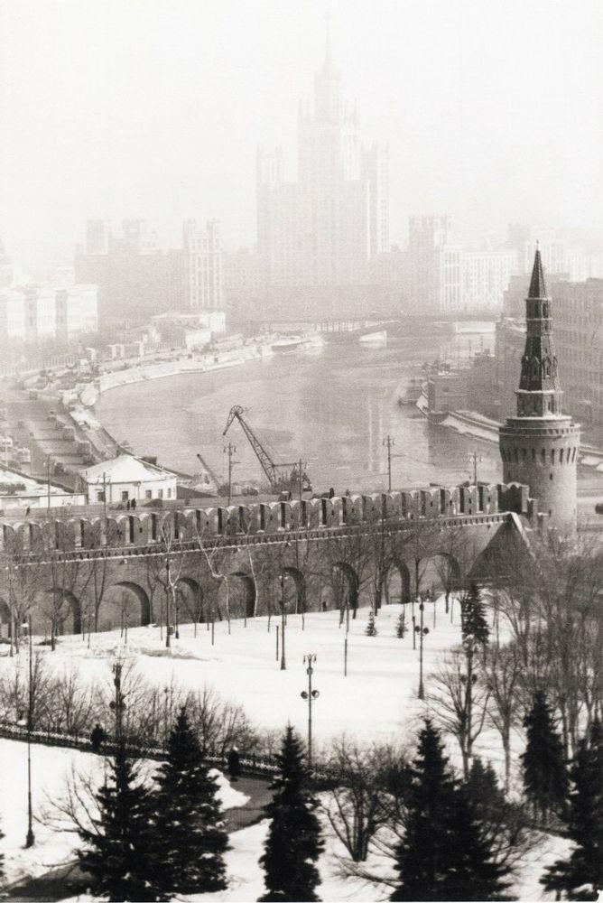 Winter in Kremlin, 1950s