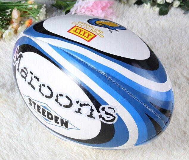 Profesional ukuran 9 PU Rugby Bola Selandia Baru rugby American Football Bola Untuk Pertandingan dan Pelatihan futebol americano