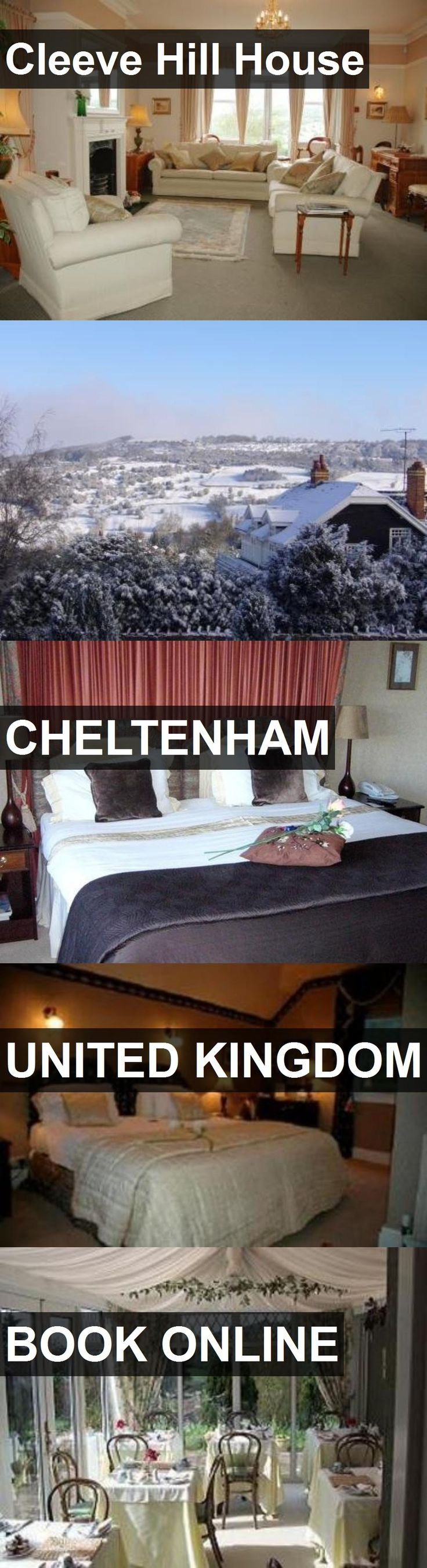 Hotel Cleeve Hill House in Cheltenham, United Kingdom. For more information, photos, reviews and best prices please follow the link. #UnitedKingdom #Cheltenham #travel #vacation #hotel