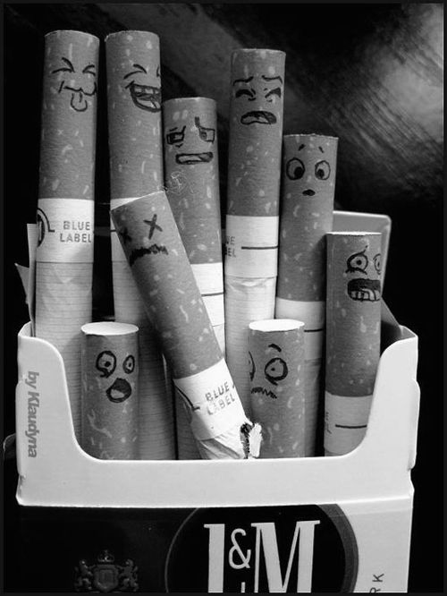 A subtle way to remind that person in your life  to stop smoking, or at least cut down.