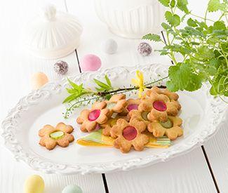 Песочное печенье с лимоном и мармеладом   ELVI