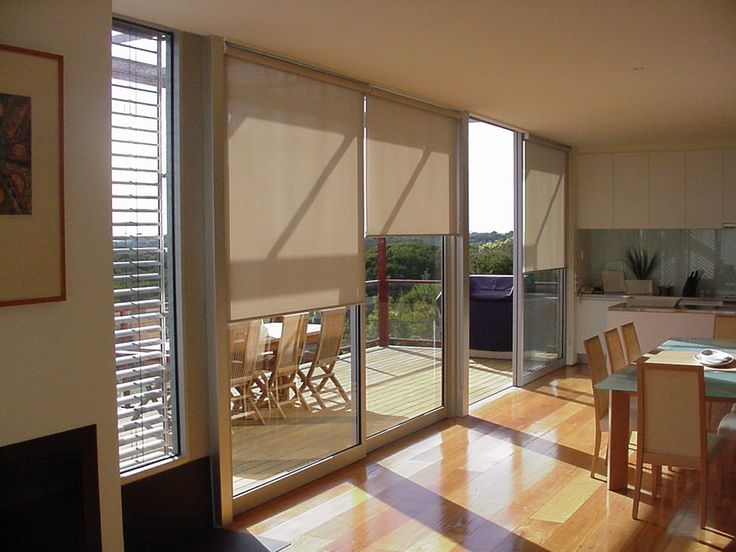window treatments for sliding glass doors roller blinds