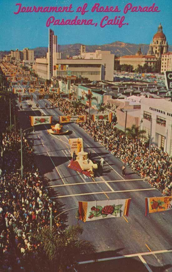 Tournament of Roses Parade, Pasadena CA
