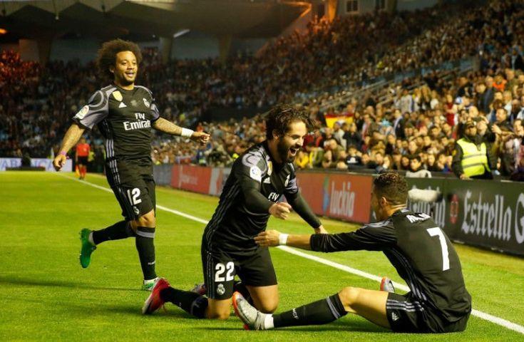 Cuplikan Gol Celta Vigo vs Real Madrid, 18 Mei 2017
