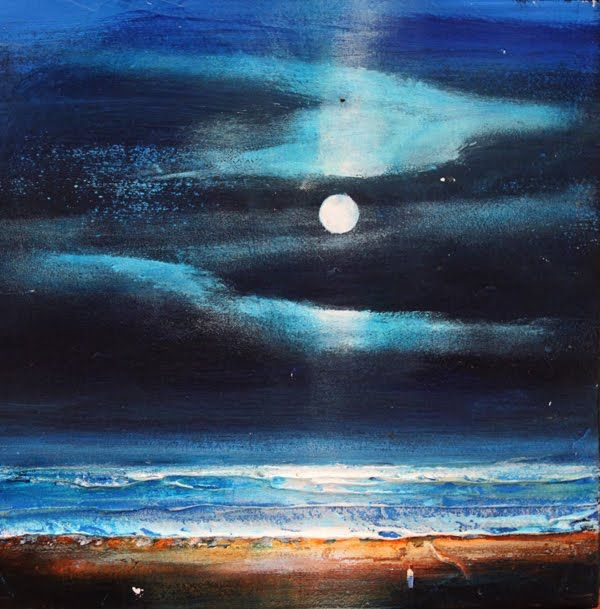 Painting Light Seascapes In Acrylic