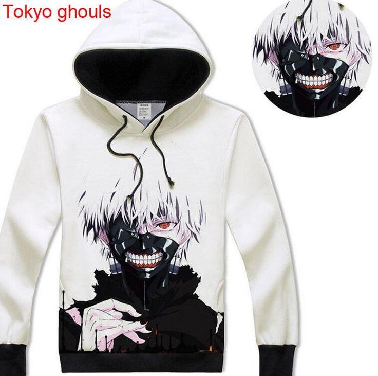 Christmas Sweatshirts Anime Tokyo ghouls Hoodie Long Sleeve Cosplay Unisex  Coat|19ebbc70-1c89-
