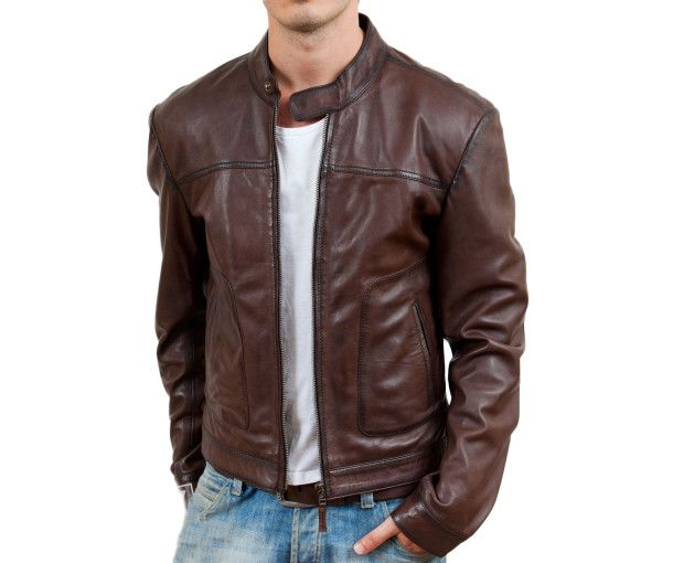 A very high quality leather jacket made using pure Napa Lambskin Soft Leather  Select from our Ready Sizing Options and Colors or email us at care@beltkart.com for custom sizing options and colors. The Material used is 100% Pure Soft Lamb Skin Genuine Leather. The Lining is 100% Polyester with Brilliant Design and Premium Stitching throughout.Dispatch in: 2 Weeks  Buy Leather Jackets online in India at your favourite Leather Store - BeltKart