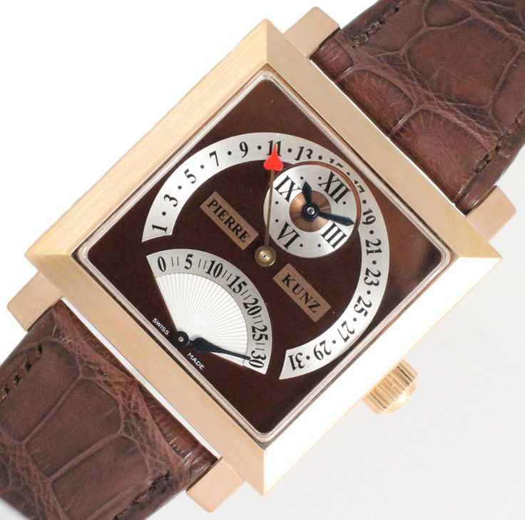 【ピエール・クンツ キャレ・ダブルレトログラード・セコンドデイト PKL015SDR メンズ時計 OH済み】天才時計師「 #ピエールクンツ 」。フランクミュラーウォッチランドのもとで2002年にブランド「 #PIERRE KUNZ 」を立ち上げました。この商品もその才能が遺憾なく発揮された設計で、6時位置に秒針のレトログラード針、上部にはデイト表示のためのレトログラード針が配された複雑系時計です。画像をクリックして頂きますと、詳細ページをご覧頂けます。 #セブンマルイ質店 TEL06-6314-1005