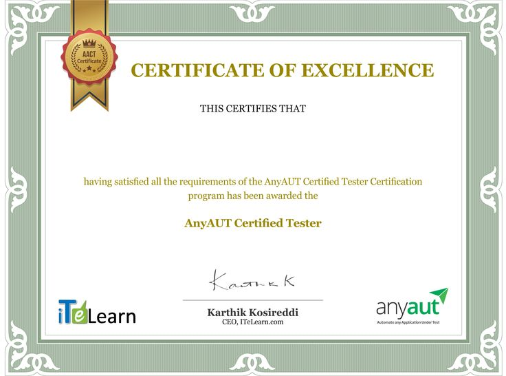 We are glad to announce that 20 of our #AnyAUT participants have successfully completed the rigorous 3-step AnyAUT certification process i) Attending the 15-hours intensive #training ii) Implementing AnyAUT in a Live #Project iii) Clearing the AACT test and have been awarded #AnyAUTCertifiedTester Certificate. Kudos to all of them!!  Click here to know more: https://anyaut.com/
