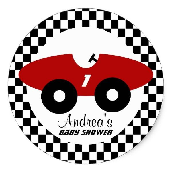 http://ift.tt/2tGzRtE Shop https://goo.gl/9XcRX8   Red Race Car Baby Shower Classic Round Sticker    Red race car and black and white checker pattern design sticker to compliment our invitations.  Personalize text as preferred.     Go To Store  https://goo.gl/9XcRX8  #AutoRacing #BabyBoy #BabyShower #Cars #CheckerPattern #Expecting #Favor #RaceCar #Racer #Shower http://ift.tt/2tGzRtE