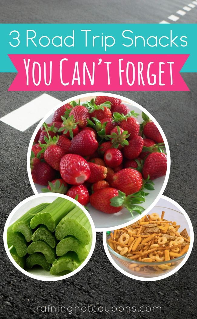 3 Road Trip Snack That You Can't Forget: Packing your own snacks at home will save a few dollars as you won't need prepackaged snacks from the store! Click through to read about these 3 road trip snacks you can't forget and how to prepare them!
