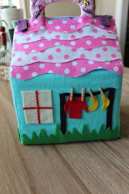Chica de Jane Designs: Una pequeña casa
