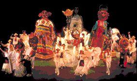 Carnaval, Veracruz, Ballet Folklorico de Mexico