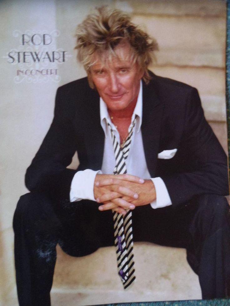 Rod Stewart in Concert -Concert programme
