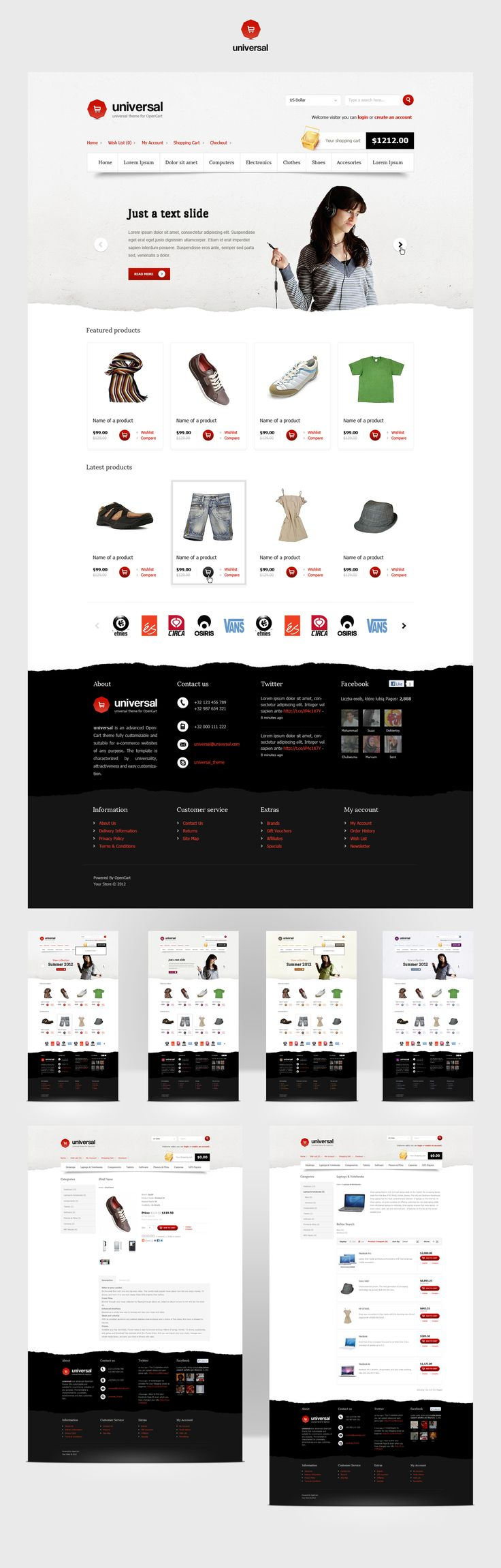 Universal - OpenCart Premium Theme - great product pictures change everything!