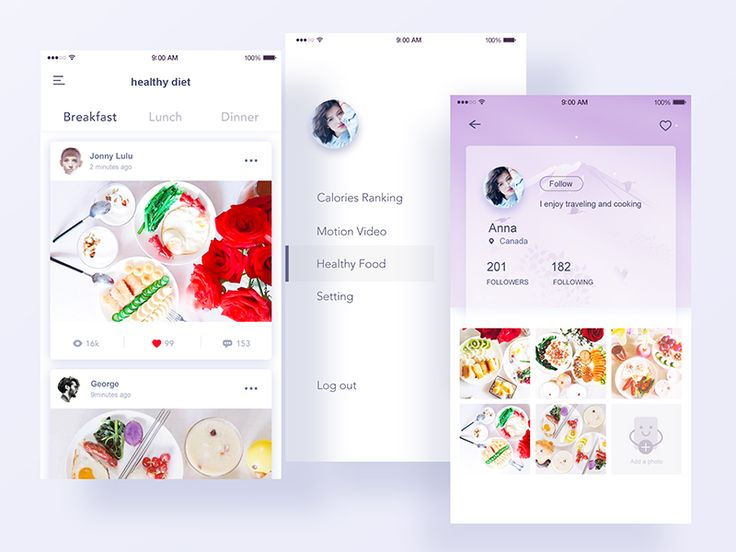 Health App Design,hope you can like it! Thank you@2H for the picture material